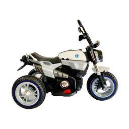 Moto Electrica Recargable Blanca Fragola Kids