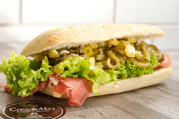 Sandwich especial Casaletto + Papas + Brownie + Gaseosa
