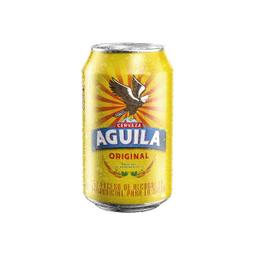 Cerveza Aguila Lata