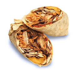 Wrap de Pollo Crispy + Sopa Mexicana