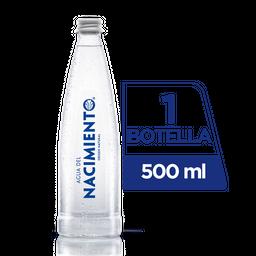 Agua Nacimiento Con Gas 500 ml