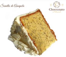 Porción Torta de Semilla de Amapola