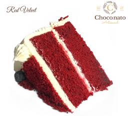Porción Torta Red Velvet