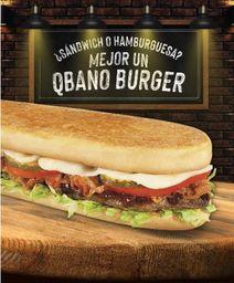 Qbano Burger en Combo