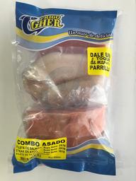 Combo Asado X 650G (F. Salmon, Steak DeAtun, F. Tilapia)