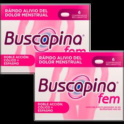 Rappicombo Buscapina Fem 20+400Mg X2 cajas