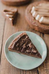 Porción Brownie con Ganache de Milo