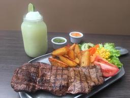 Steak a la parrilla