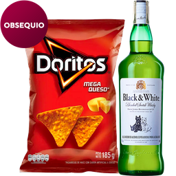 Rappicombo Black & White 700 ml. + Doritos