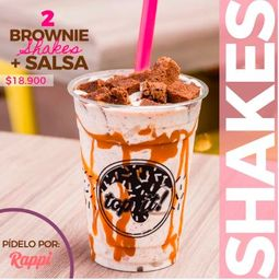 2 Brownie Shake + Salsa
