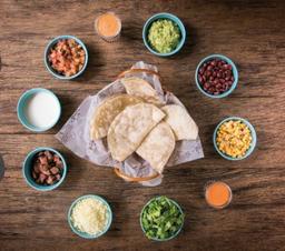 Tacos Xochimilco para Compartir