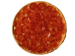 Pizza Pepperoni Lovers Personal Plus