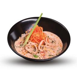 Panang Curry con Calamares