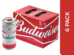 6 Unidades Budweiser King Of Beers 269 ml