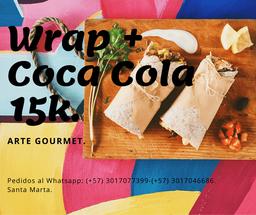 COMBO: Wrap + Coca Cola