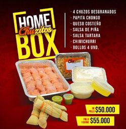 Homebox Chuzo Desgranados