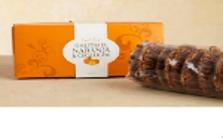 Caja galletas naranja