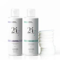 Kit de Limpieza Agua 24/7 Paola Turbay + Discos x 400 ML