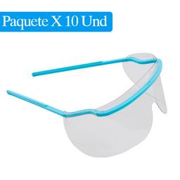 Gafas de Protección Paquete x 10 Und