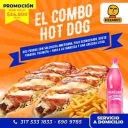 Doble Combo Hot Dog