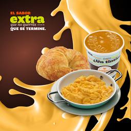 Combo Croissant Huevo Cheddar