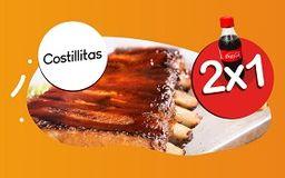 2X1 Costillas de cerdo