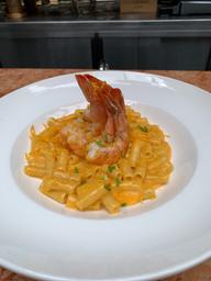 Mac and Cheese con Langostino