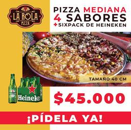 Nueva pizza  mediana