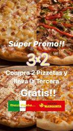 Super promo pizza 3x2