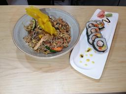 Combo Sushi y Wok