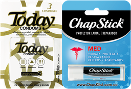 Rappicombo Today Triple Pleasure x3 + Chapstick Medicado