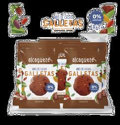 5 PACK GALLETAS DE CACAO 0% AZÚCAR