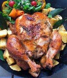 Pollo a la contadina