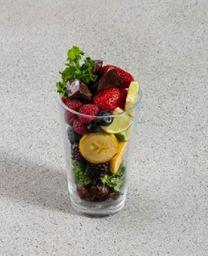 Batido de Kale, Frutos Rojos y Cocoa