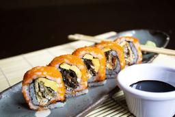 Mr. Sushi Salmón Skin Roll