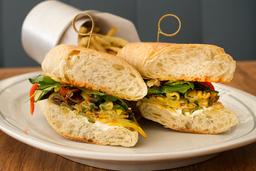 Sándwich de Vegetales Parrillados