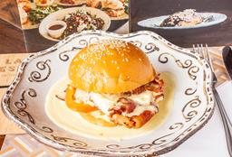 Sándwich Tocineta y Huevo
