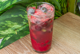 Soda de Frutos Rojos