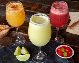 Soda Saborizada de Fresa y Lyche
