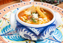 Sopa Clásica de Tortilla