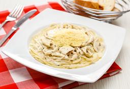 Spaghetti Pollo Champiñón