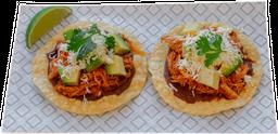 Tacos Tinga de Pollo X2 Unidades