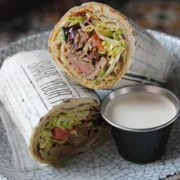 Shawarma de Cordero con Papas.