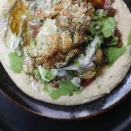 Hummus coliflor