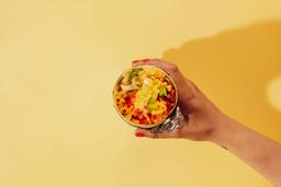 Burro Veggie con jugo
