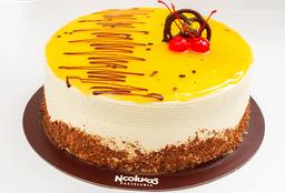 Torta Maracuyá 1 Lb. (25 - 30 Porciones)