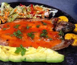Trucha en Salsa