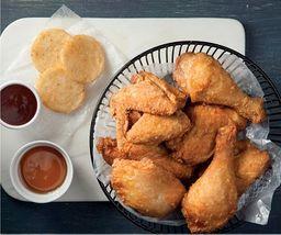 1 Pollo + 3 Acompañamientos
