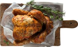 1 Pollo Broaster o Asado+ 1 Acompañamiento + Limonada gratis!