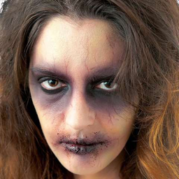Maquillaje básico de zombie